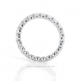 Eternity Diamond Wedding Band in Platinum