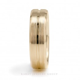 6.3mm Comfort Fit Mens Wedding Band.