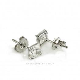 Lab Grown Diamond Stud Earrings