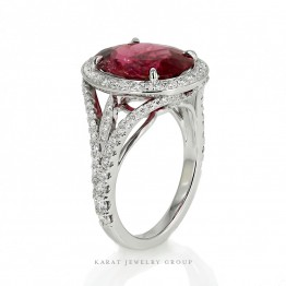 Perfect Imperfection 5ct. Tourmaline Ring